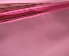 0,5m Kunstleder Spiegelfolie - Hologramm - 1 Stück - Spiegelnd - Pink