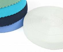 1m Gummiband - elastisch - Wellen - 40mm - Warmweiß