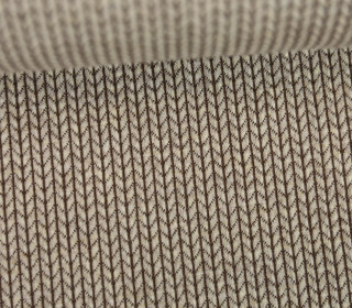 Bio-Jacquard - 3D - Knit Knit - Check Point - Hamburger Liebe - Beige