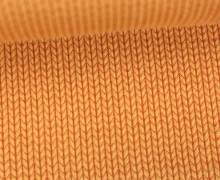 Bio-Jacquard - 3D - Knit Knit - Check Point - Hamburger Liebe - Orangegelb
