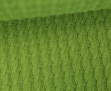 Bio-Strickstoff - Knitty Plait - Check Point - Hamburger Liebe - Grün