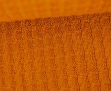Bio-Strickstoff - Knitty Plait - Check Point - Hamburger Liebe - Orange