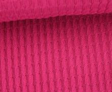 Bio-Strickstoff - Knitty Plait - Check Point - Hamburger Liebe - Beere