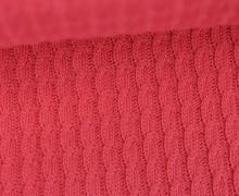 Bio-Strickstoff - Knitty Plait - Check Point - Hamburger Liebe - Pink