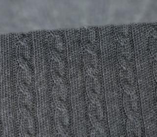 Bio-Strickstoff - Knitty Plait 2 - Check Point - Hamburger Liebe - Dunkelgrau