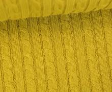 Bio-Strickstoff - Knitty Plait 2 - Check Point - Hamburger Liebe - Senfgelb