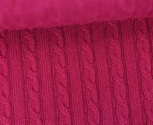 Bio-Strickstoff - Knitty Plait 2 - Check Point - Hamburger Liebe - Beere