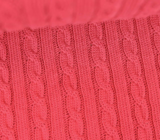 Bio-Strickstoff - Knitty Plait 2 - Check Point - Hamburger Liebe - Pink