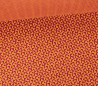 Bio-Jacquard - 3D - Mini Check Knit - Check Point - Hamburger Liebe - Orange