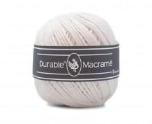 1 Rolle Garn - Durable Macrame - Makramee - 90m - Weiß (310)