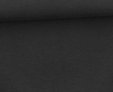 Sommersweat Moin - Uni - 160cm - Schwarz