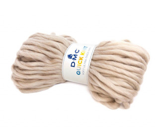 1 Wollgarn - DMC Quick Knit - 50m - Beige (601)