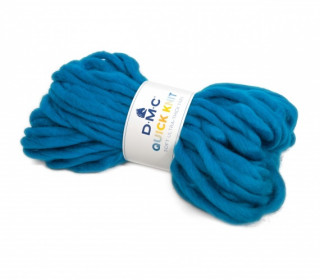 1 Wollgarn - DMC Quick Knit - 50m - Blau (603)
