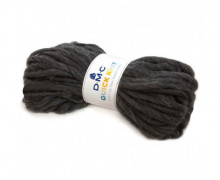 1 Wollgarn - DMC Quick Knit - 50m - Grauschwarz (600)