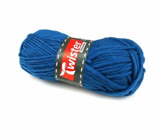 1 Twister Filzwolle - Uni - 50m - Blau