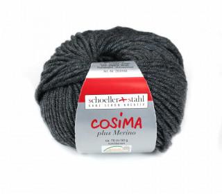 1 Wollgarn - Cosima plus Merino - 70m - Dunkelgrau Meliert(024)