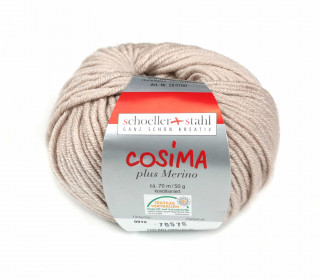 1 Wollgarn - Cosima plus Merino - 70m - Pastell Puder(012)