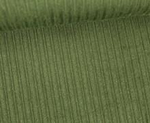 Stretchcord - Breitcord - elastisch - Uni - Tannengrün