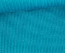 Stretchcord - Breitcord - elastisch - Uni - Blau