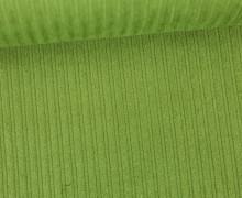 Stretchcord - Breitcord - elastisch - Uni - Grün