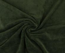 Jersey - Rippen - Uni - Tannengrün
