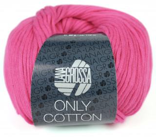 1 Schlauchgarn - Only Cotton - 110m - Lana Grossa - Pink (018)
