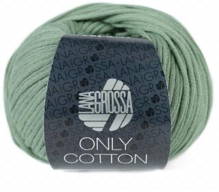 1 Schlauchgarn - Only Cotton - 110m - Lana Grossa - Schilfgrün (024)