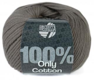 1 Schlauchgarn - Only Cotton - 110m - Lana Grossa - Braun (004)