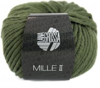 1 Wollgarn - Mille II - 55m - Lana Grossa - Tannengrün (080)