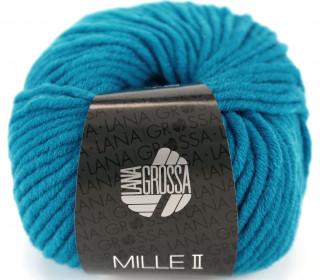 1 Wollgarn - Mille II - 55m - Lana Grossa - Cyanblau (062)