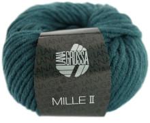 1 Wollgarn - Mille II - 55m - Lana Grossa - Dunkelpetrol (091)