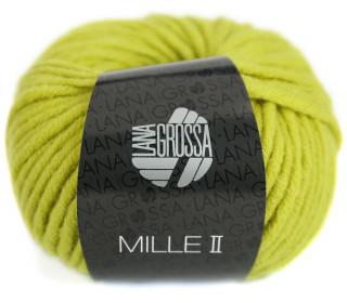 1 Wollgarn - Mille II - 55m - Lana Grossa - Gelbgrün (061)