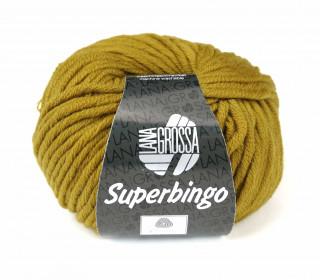 1 extrafeine Merinowolle - Superbingo - 55m - Lana Grossa - Ocker (051)