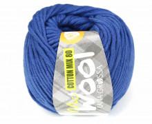 1 Garn - Mc Wool - Cotton Mix 80 - 80m - Lana Grossa - Royalblau (538)