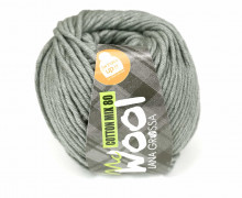 1 Garn - Mc Wool - Cotton Mix 80 - 80m - Lana Grossa - Grau (554)