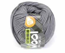 1 Garn - Mc Wool - Cotton Mix 80 - 80m - Lana Grossa - Dunkelgrau (515)