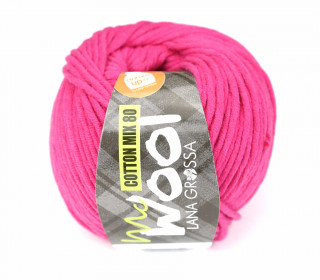 1 Garn - Mc Wool - Cotton Mix 80 - 80m - Lana Grossa - Pink (505)