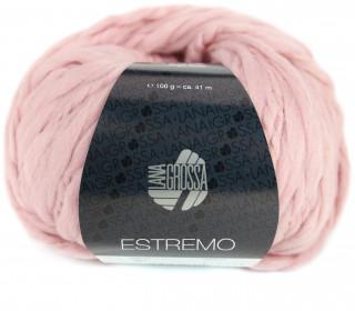 1 Wollgarn - Estremo - Chunky Garn - 41m - Lana Grossa - Altrosa (001)