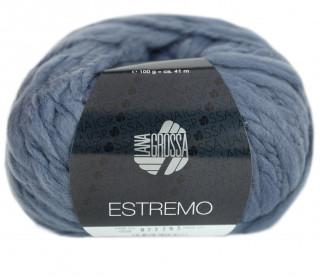 1 Wollgarn - Estremo - Chunky Garn - 41m - Lana Grossa - Blaugrau (009)