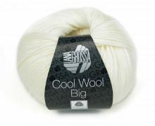 1 extrafeine Merinowolle - Cool Wool Big - 120m - Lana Grossa - Weiß (615)