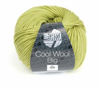 1 extrafeine Merinowolle - Cool Wool Big - 120m - Lana Grossa - Gelbgrün (966)