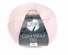 1 extrafeine Merinowolle - Cool Wool Big - 120m - Lana Grossa - Hellrosa (605)