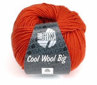 1 extrafeine Merinowolle - Cool Wool Big - 120m - Lana Grossa - Orangerot (905)