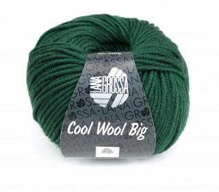 1 extrafeine Merinowolle - Cool Wool Big - 120m - Lana Grossa - Tannengrün (949)