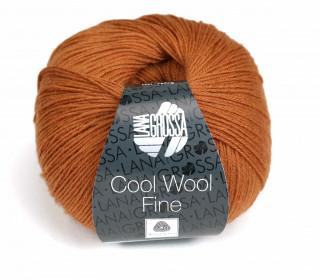 1 extrafeine Merinowolle - Cool Wool Fine - 300m - Lana Grossa - Rotbraun (020)
