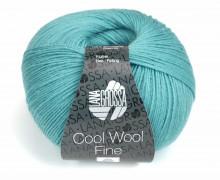 1 extrafeine Merinowolle - Cool Wool Fine - 300m - Lana Grossa - Aqua (028)