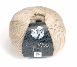 1 extrafeine Merinowolle - Cool Wool Fine - 300m - Lana Grossa - Beige (031)