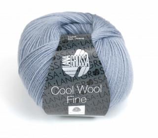 1 extrafeine Merinowolle - Cool Wool Fine - 300m - Lana Grossa - Blaugrau (011)