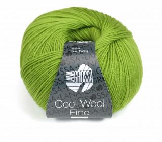 1 extrafeine Merinowolle - Cool Wool Fine - 300m - Lana Grossa - Grün (023)