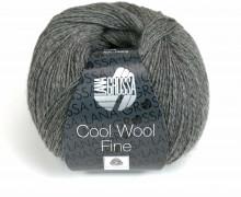 1 extrafeine Merinowolle - Cool Wool Fine - 300m - Lana Grossa - Grau meliert (018)